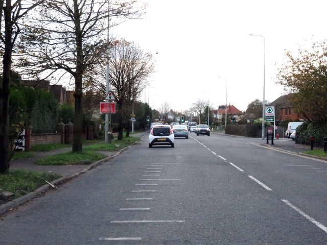 Garstang Road East in Poulton-Le-Fylde