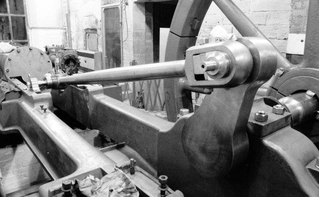Leeds Industrial Museum - mill engine re-erection