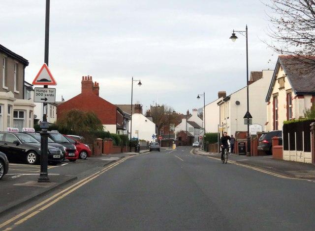 Hardhorn Road in Poulton-Le-Fylde
