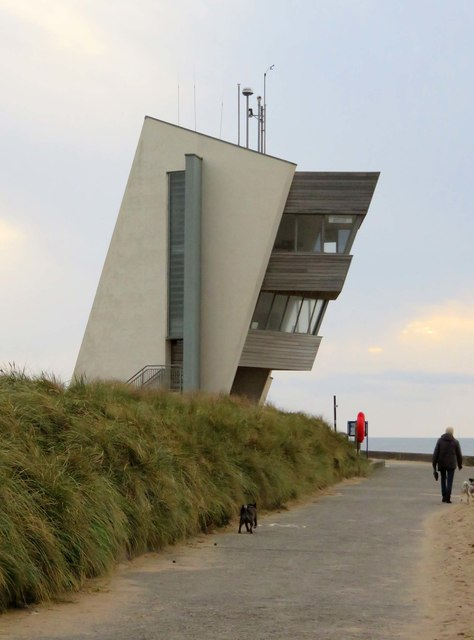 N.C.I. Rossall Point by the Lancashire Coastal Way