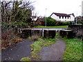 ST1783 : Concrete blocks, Lisvane, Cardiff by Jaggery