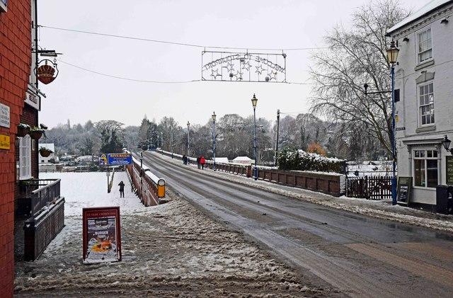 Bridge Street and Stourport Bridge, Stourport-on-Severn