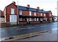 SJ3250 : Mold Road houses, Wrexham by Jaggery
