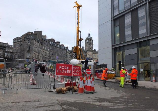 Leith Street closed, Edinburgh