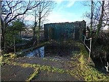 NS4074 : Bridge over Gruggies Burn by Lairich Rig