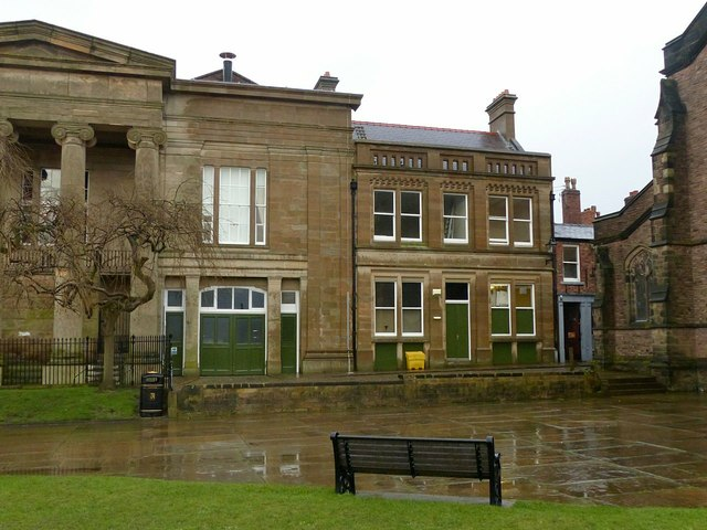 The old Borough Police Station, Macclesfield