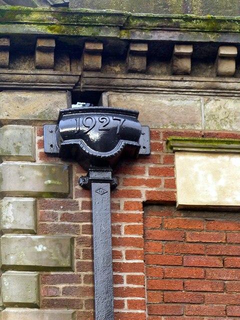 Extension to 19 King Edward Street – detail