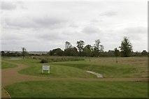SU5985 : Landscaped pitch by Bill Nicholls