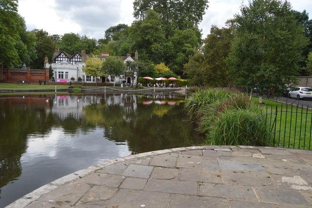 Carshalton Upper Pond