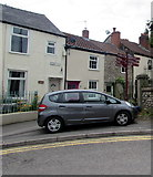 ST5394 : Signpost on a Chepstow corner by Jaggery