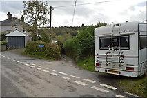 SX4061 : A very narrow lane by N Chadwick