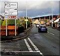 SJ3056 : Wrexham Road directions sign, Cefn-y-bedd, Flintshire by Jaggery
