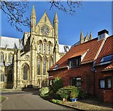 TA0339 : Minster Yard South, Beverley, Yorkshire by Bernard Sharp