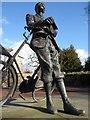 SO5139 : Sculpture of Elgar by Philip Halling