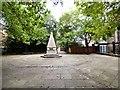 SJ8298 : The Pyramid, St John's Square by Gerald England