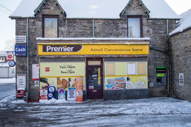 The Premier Atholl Convenience Store in Blair Atholl