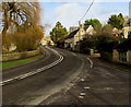 SP2512 : Junction of the A361 and Beech Grove, Fulbrook, West Oxfordshire by Jaggery