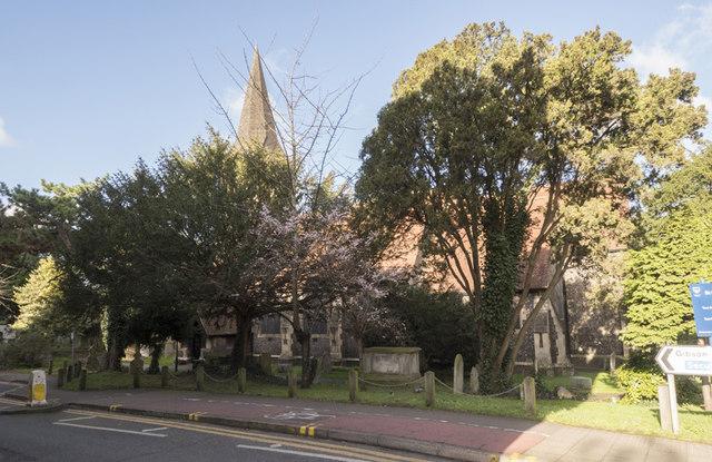 St Nicholas, St Nicholas Way, Sutton