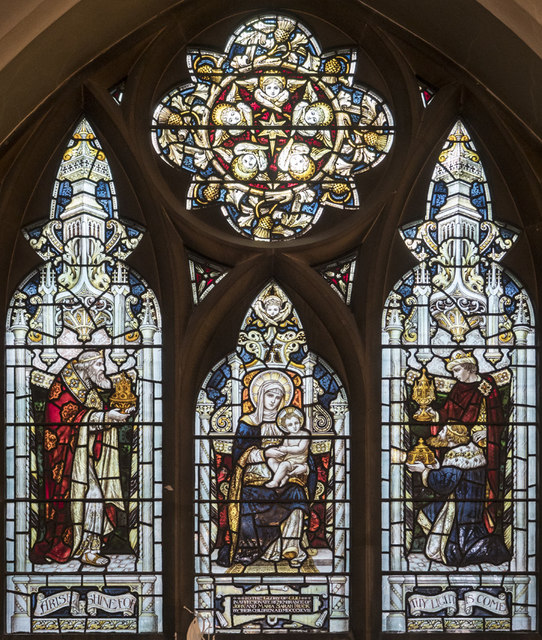 St Nicholas, St Nicholas Way, Sutton - Stained glass window