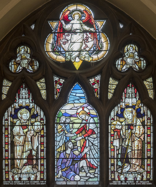 St Nicholas, St Nicholas Way, Sutton - Stained glass window