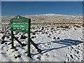 NS6281 : Campsie Glen sign by Alan O'Dowd
