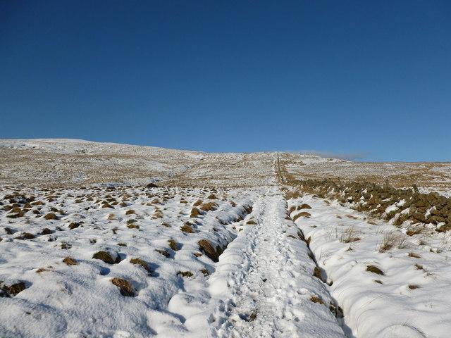 Path onto Holehead