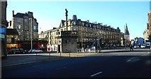 NS5964 : Mercat Cross, Glasgow Cross by Richard Sutcliffe