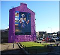 NS5964 : Billy Connolly mural, Gallowgate by Richard Sutcliffe