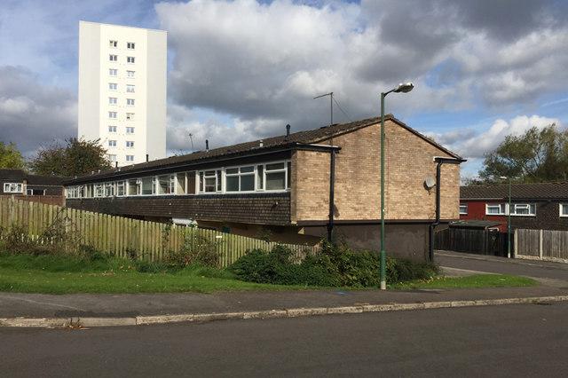 Cornfield Croft, Chelmsley Wood, east Birmingham