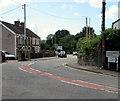 ST0582 : Bend in the road, Cross Inn by Jaggery