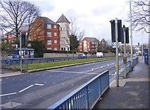 SO9097 : Penn Road Crossing by Gordon Griffiths