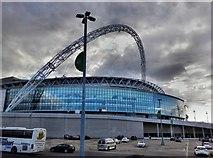 TQ1985 : Wembley stadium by derek dye