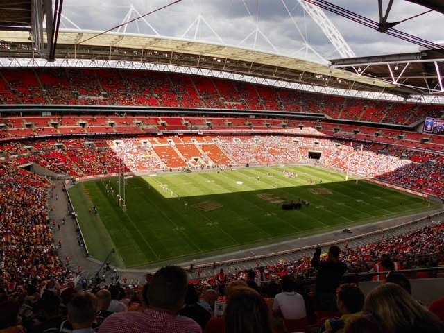 Wembley stadium pitch