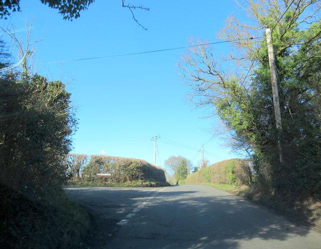 Crown Lane & Brine Pits Lane Junction Wychbold