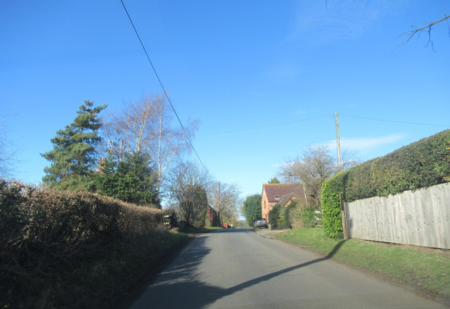 Crown Lane Near New Ridgeway Farm Wychbold