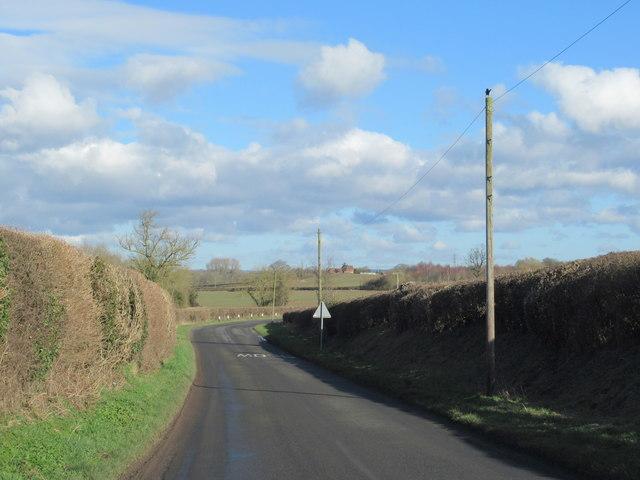Crutch Lane Near Elmbridge
