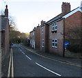 SJ3057 : Brick houses, Castle Street, Caergwrle, Flintshire by Jaggery