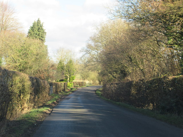 Crutch Lane Near Cooksey Corner