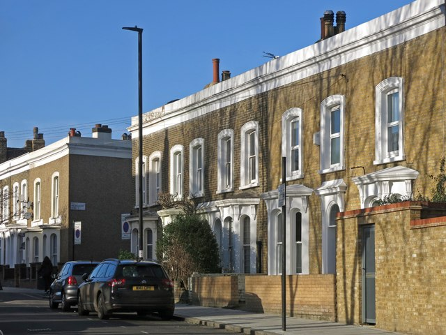 Terraced houses, Pulross Road, SW9