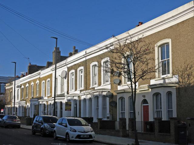 Terraced houses, Pulross Road, SW9 (2)
