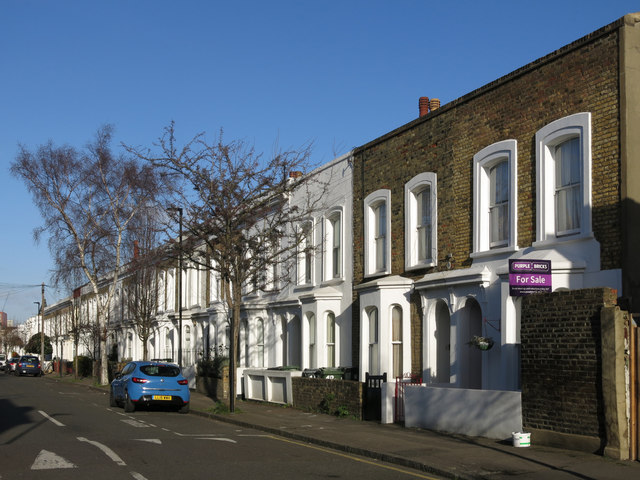 Terraced houses, Mordaunt Street, SW9