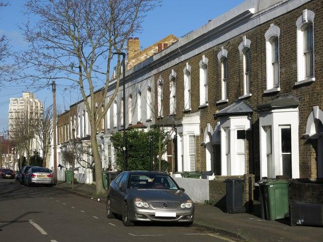 Terraced houses, Hargwyne Street, SW9