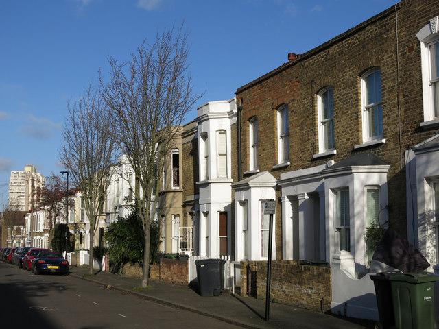 Terraced houses, Hargwyne Street, SW9 (2)
