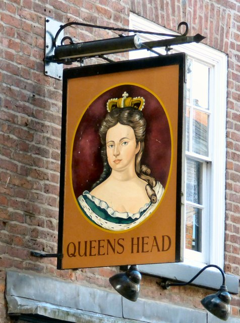 Sign of the Queens Head