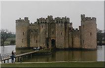 TQ7825 : Bodiam Castle, 1985 by John Baker
