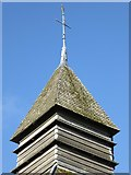 SO3958 : Detail of the Bell Tower in Pembridge by Philip Halling