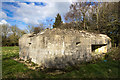 SU0885 : WWII Wiltshire: shellproof pillboxes of Lydiard Green (Lydiard Millicent) - Pillbox #3 by Mike Searle