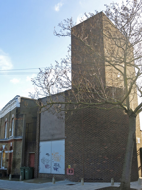 Victoria Line ventilation shaft, Pulross Road, SW9 (3)