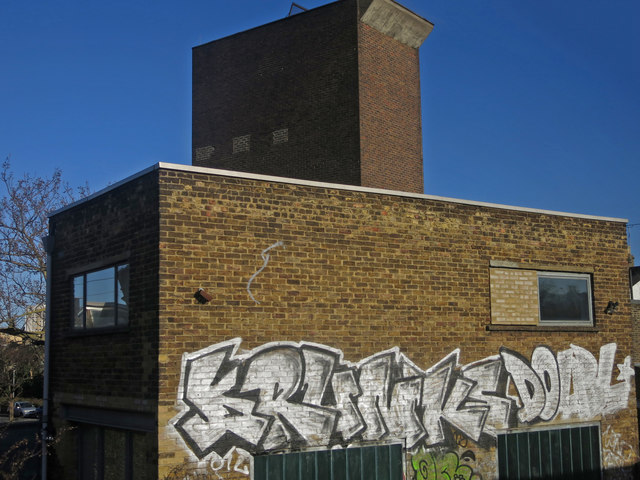 Victoria Line ventilation shaft, Pulross Road, SW9 (7)