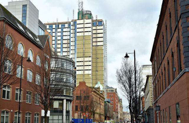 Windsor House redevelopment, Belfast - February 2018(1)